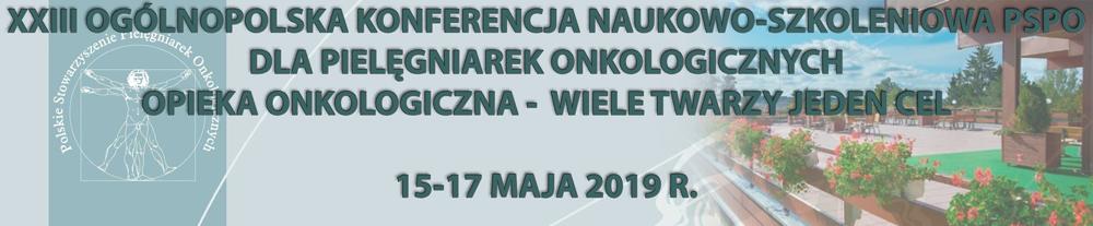 XXIII Ogólnopolskiej Konferencji Naukowo-Szkoleniowej PSPO